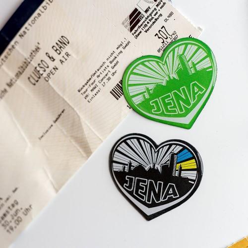 Magnet-Herzen Jena (2 Stk.)
