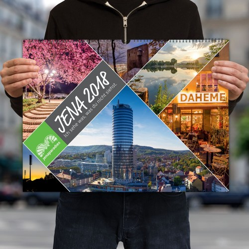 Jena Kalender 2018 | A2
