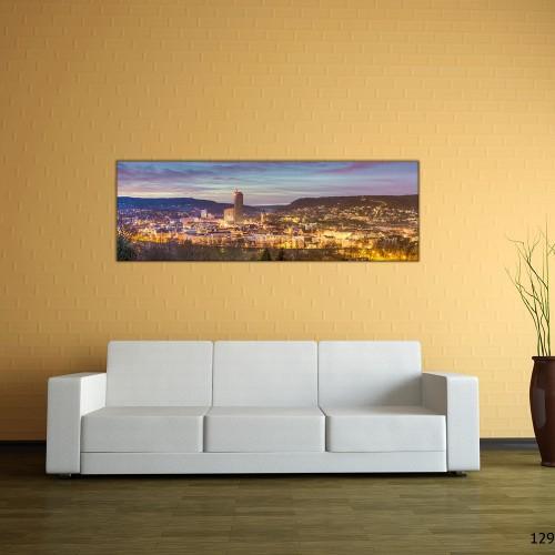 Panorama | Jena Skyline Neujahr 2015 (BNR_129)