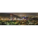 Panorama   Skyline bei Nacht (BNR_80)