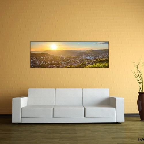 Panorama | Sonnenaufgang vom Bismarckturm (BNR_169)