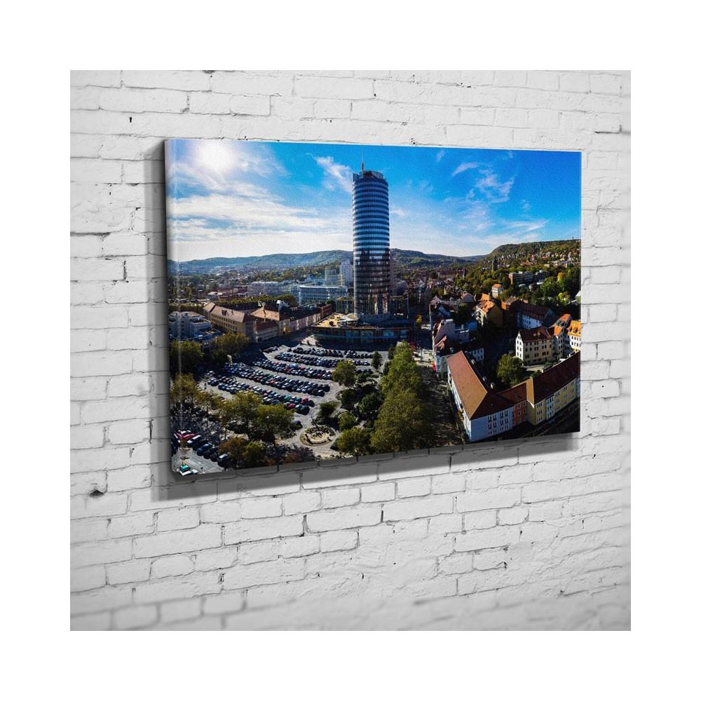 Der Eichplatz mit Jentower (BNR 96)-Jena