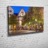 Der Marktplatz mit seinen blühenden Kastanien (BNR 111)-Jena