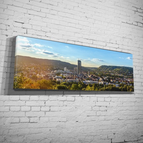 Panorama auf Jena vom Hausberg