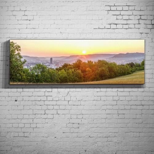 Ammerbacher Platte zum Sonnenaufgang