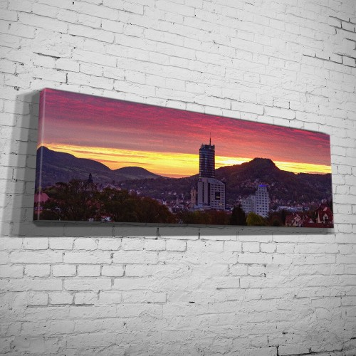 Panorama Schweizer Höhe Sonnenaufgang