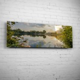 Der Schleichersee zum Sonnenaufgang