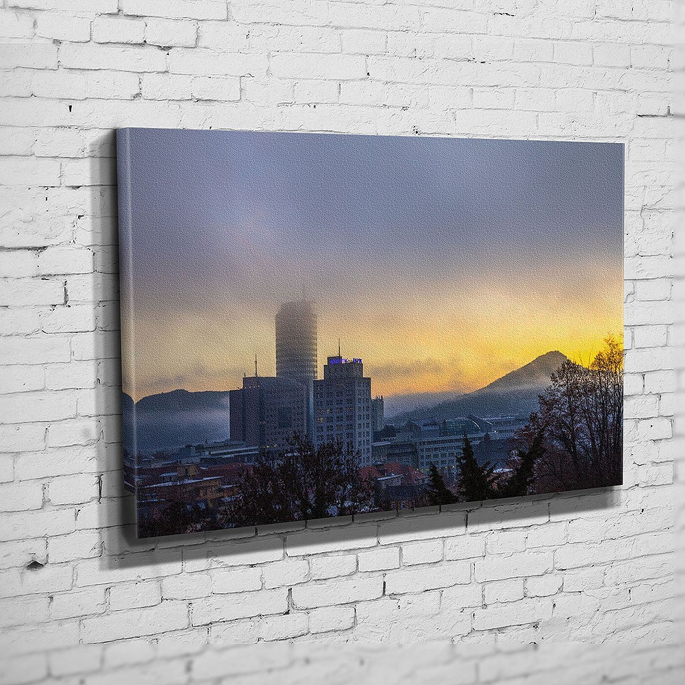 Die Skyline zum Sonnenaufgang (BNR 306)