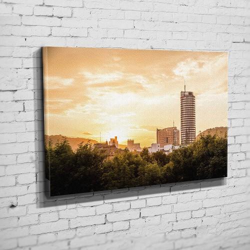 Die Skyline zum Sonnenuntergang (BNR 324)