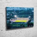Das Ernst-Abbe-Sportfeld mit Rekordkulisse  (BNR 325)
