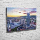 Die Skyline von Jena im Abendlicht (BNR 331)