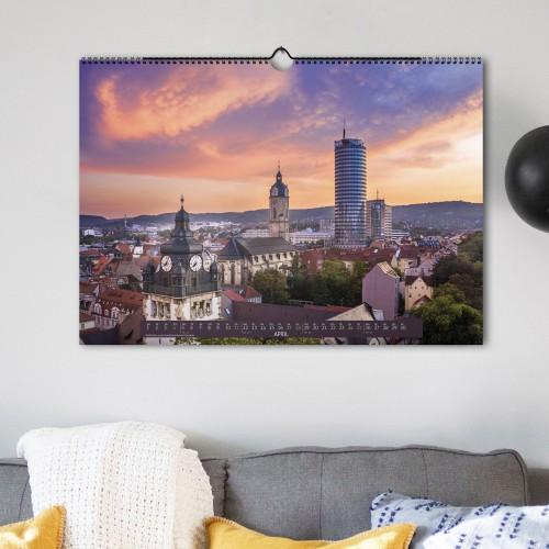 Jena Wand-Kalender 2021 - April