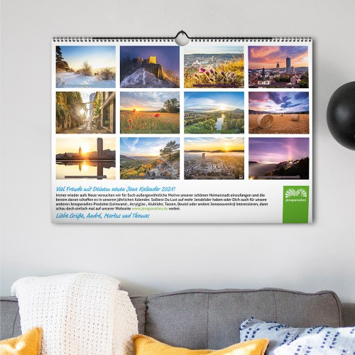 Jena Wand-Kalender 2021 - Übersicht
